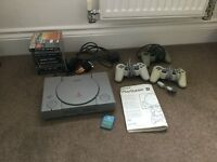 Retro Playstation 1 and games
