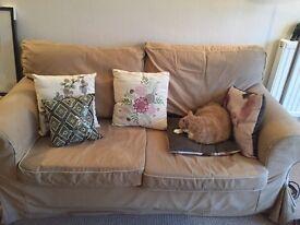 URGENT - Ektorp beige sofa