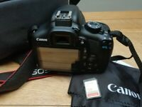 Canon 1300D EOS include 128 GB extreme micro SD card, carry bag & tripod