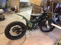 Ossa tr300i trials bike
