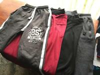7 Assorted Jogging Bottoms (All Size S)