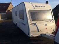 bailey ranger 6 berth fixed bunks 2006 model,light weight,motor mover,NO DAMP,NO DENTS,NO MARKS
