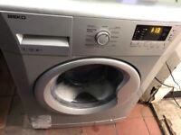 Beko Silver Washing Machine.......Mint free Delivery
