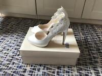 Gorgeous Jenny Packham Bridal Wedding Shoes