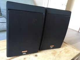 JBL Control 5 Loudspeakers/ Monitors & Custom adjustable JBL stands