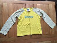 "Brownies Uniform - Long sleeved top 26"" / 65cm chest"