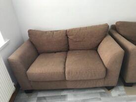 Two seater sofa x2 FREE!