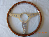 "Moto-Lita 15"" steering wheel. New and unused."