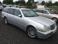 LOW MILEAGE Mercedes DIESEL E class estate Full service History