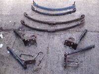 "Land Rover S 2/3 88 "" s w b Parabolic Springs Full Set £150"