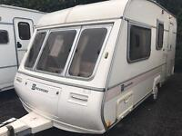 Bailey discovery 500 1997 4 berth with awning touring caravan