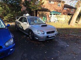 Subaru Impreza sti widetrack