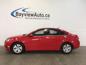 2014 Chevrolet CRUZE LT- TURBO! 6 SPEED! A/C! ON STAR! CRUISE!