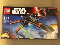 Lego 75102 - Star Wars Poe's X-Wing Fighter - Brand New in the Box and Sealed