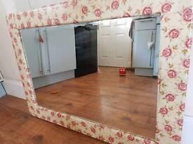 Upcycled mirror emma Bridgewater design