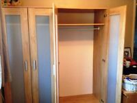 Two Ikea Aneboda Wardrobes in Good Condition