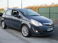 2012 VAUXHALL CORSA 1.4 SE 5 DOOR AUTOMATIC - HEATED LEATHER - CRUISE - S/HISTORY - PX - FINANCE