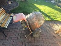 240v cement mixer, very good working order