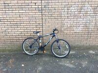Shockwave XT 580 mountain bike 18 gears 18 inch aluminium frame 26 inch wheels front suspension
