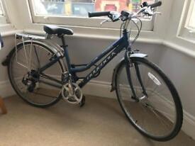 Ridgeback Ladies 17in frame, hybrid bike