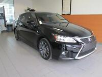 2015 Lexus CT 200h F-SPORT PACKAGE LEASE 48 MTH @ 510$+TX / CASH