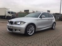 BMW 1 Series 1.6 116i M Sport 3dr │Half Leather │ Rear Sensors │ Xenon │1 Year MOT