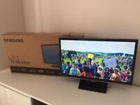 "SAMSUNG T22E310 22"" LED TV Full HD - Like new"