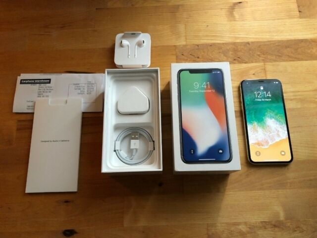 brand new 7c0cd 837d2 APPLE IPHONE X 10 256GB LIKE NEW UNLOCKED IN SILVER / WHITE WITH BOX,  CHARGER & CASE, 7 8 Plus | in Southampton, Hampshire | Gumtree
