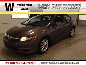 2012 Honda Civic SUNROOF|LEATHER|HEATED SEATS| 130,735 KMS|