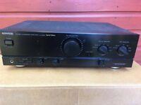 Kenwood amplifier and speakers