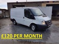 FORD TRANSIT SWB 100 BHP 6 SPEED *FINANCE FROM £30 PER WEEK*