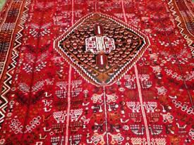 Beautiful, fabulous condition, Large Kashgai Handmade rug from John Lewis