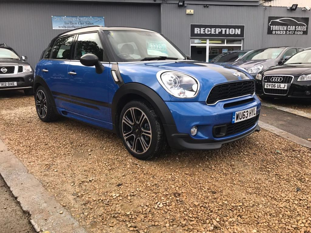 MINI COUNTRYMAN 2.0 COOPER SD 5d 141 BHP (blue) 2013