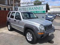 Jeep Cherokee 2.4 Sport Station Wagon 4x4 5dr£1,495 p/x welcome NEW MOT. NEW CLUTCH