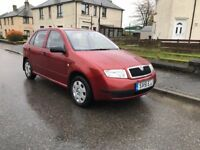 Skoda Fabia cheap run mot till summer