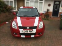 Suzuki swift 1.5 petrol, air con,keyless start and entry, 7 service stamps