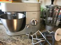 Kenwood Chef Premier kitchen mixer and accessories