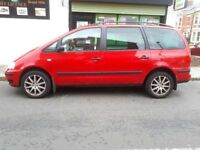 7seater Estate MPV Volkswagen Sharan Carat 1.9TDi PD 130 BHP 7 Gears Excellent Condition Low Mileage