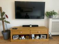 Pine TV stand