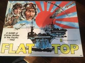 Flat top board game.