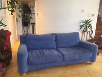 Very comfy second hand 3/4 seater Heals sofa