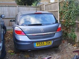 VAUXHALL ASTRA SXI TWINPORT S-A 2005 BREAKING ALL PARTS