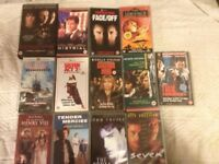 VHS Tapes x 40 movies with original boxes