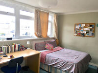 Large double room in sociable Old Street flat with living room available now