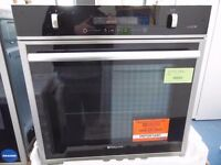NEW GRADED HOTPOINT INTEGRATED SINGLE OVEN (12 month warranty) REF: 13558