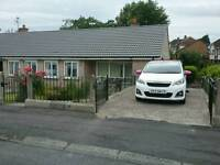 Swap Hillsborough Two bedroom bungalow/Newcastle are surrounding areas.