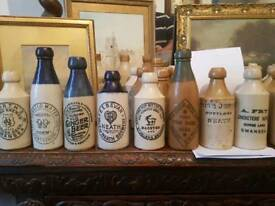 Wanted , Local stoneware ginger bottles and flagons antiques