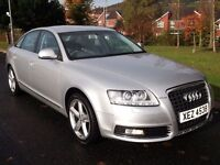 2009 AUDI A6 TDI AUTO *FACELIFT MODEL* SAT NAV XENONS LEATHER LIKE 530D A4 A8 320D 520D INSIGNIA