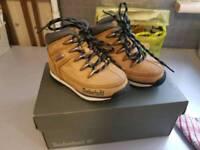 Boy timberland boots size 6