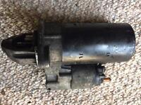 Starter motor iveco daily